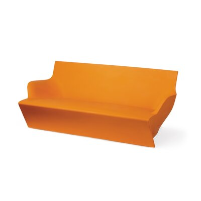 Kami Yon Sofa Finish: Pure Orange Lacquer