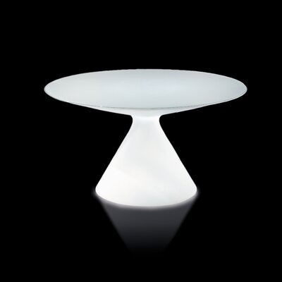 Ed Dining Table Finish: Signal White Lacquer