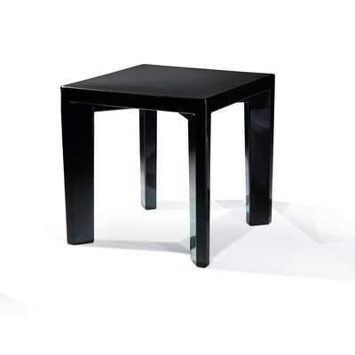 Gino Dining Table Finish: Black