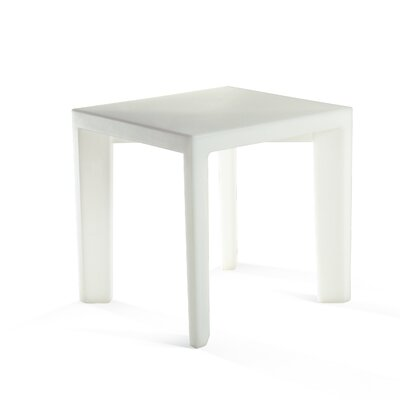 Gino Dining Table Finish: White