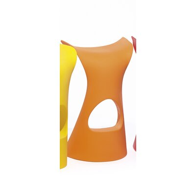 Koncord Bar Stool Color: Pure Orange Lacquer