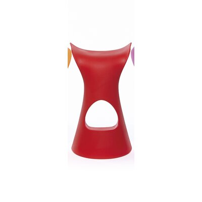 Koncord Bar Stool Color: Flame Red Lacquer