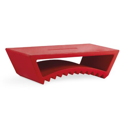 Tac Coffee Table Finish: Flame Red Lacquer