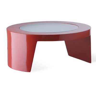 Tao Coffee Table Finish: Flame Red Lacquer