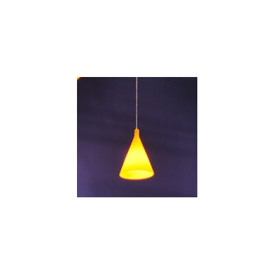 Juxt 1-Light Mini Pendant Finish: Yellow