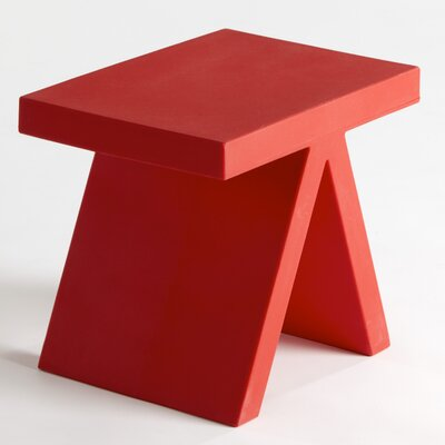 Toy End Table / Chair Color: Magenta Lacquer