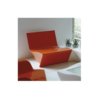 Kami Ichi Soft Seating Finish: Pure Orange Lacquer