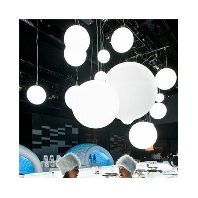 Globo Geoline 1-Light Pendant Size: 15.7, Wattage: 25W