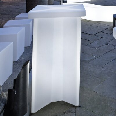 X2 Pub Table Color: White with Light