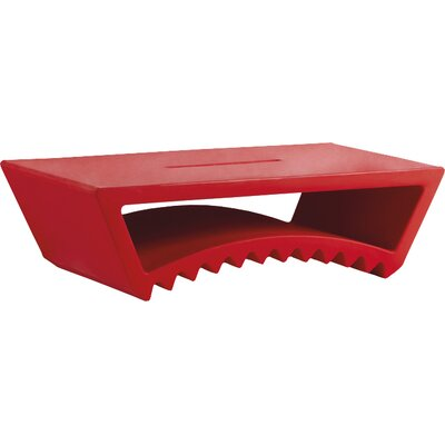 Tac Coffee Table Color: Flame Red Lacquer