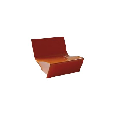 Kami Ichi Soft Lounge Chair Finish: Pure Orange Lacquer