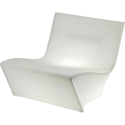 Kami Ichi Soft Lounge Chair Finish: White with Light