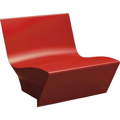 Kami Ichi Soft Lounge Chair Finish: Red