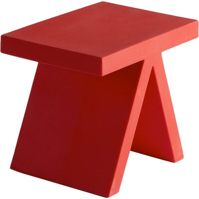Toy End Table Color: Flame Red Lacquer