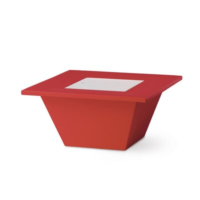 Bench Coffee Table Finish: Red