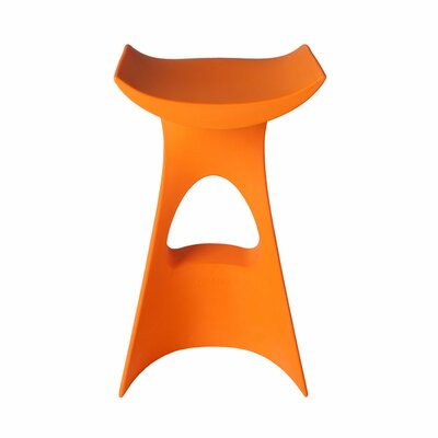 Koncord Bar Stool Color: Orange