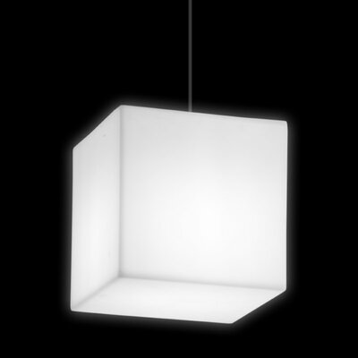 Cubo Geoline 1-Light Mini Pendant Cable Color: Black, IP Rating: IP55