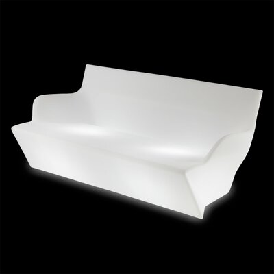 Kami Yon Sofa Finish: White with Light