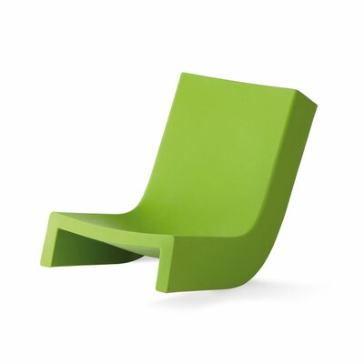 Twist Chaise Lounge Finish: Green