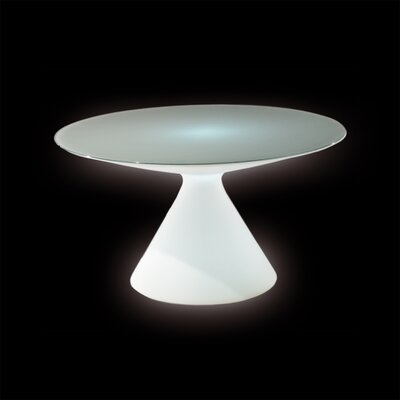 Ed Dining Table Finish: White with Light