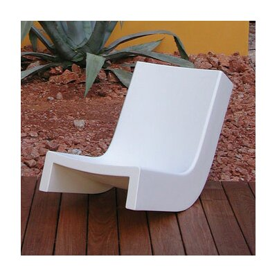 Twist Chaise Lounge Finish: White