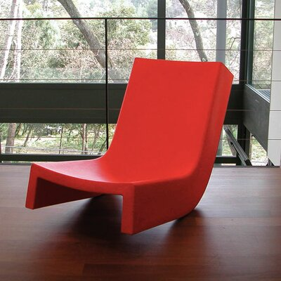 Twist Chaise Lounge Finish: Red