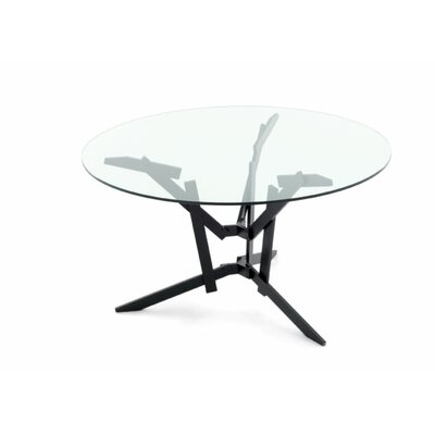 FeFe Dining Table Top Finish: Glass