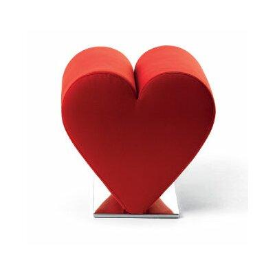 Love Sofa Finish: Red