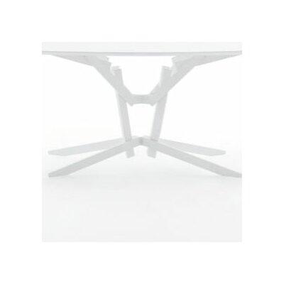 FeFe Table Base Size: 28.74 x 39.98 x 24.80, Finish: White