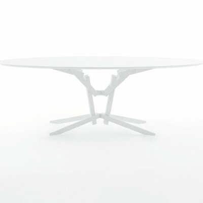 FeFe Dining Table Top Finish: White/Black
