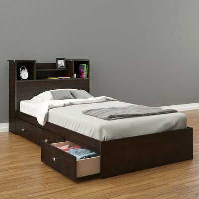 Baillie Contemporary Platform Bed with Storage