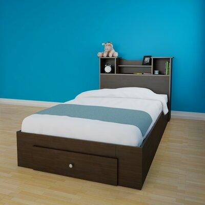 Pocono Platform Bed with Storage Size: Twin