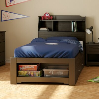 Dixon Mates Bed with Storage Size: Twin