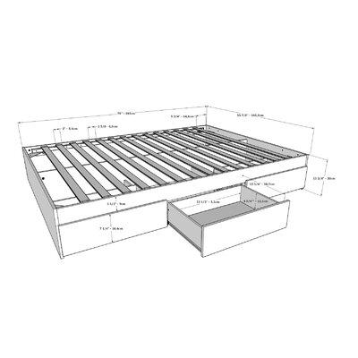 Allena Storage Platform Bed Size: Full