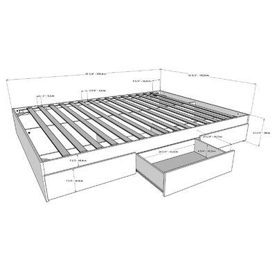 Allena Storage Platform Bed Size: Queen