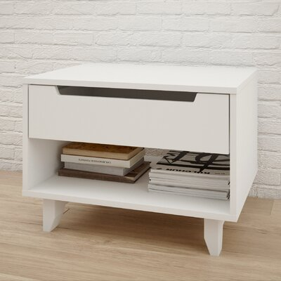 Brayden Studio Kerry 1 Drawer Nightstand