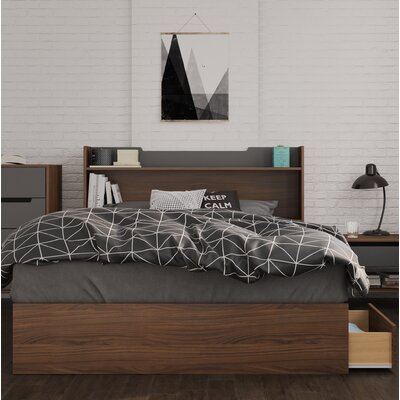 Yokota Storage Platform Bed Size: Full