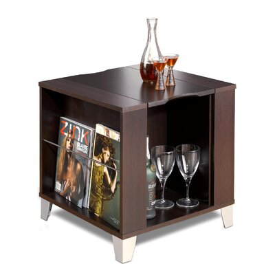 Cheap Nexera Brooklyn End Table in Rich Espresso Finish (QB1614)