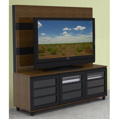 Cheap Nexera Harmony 56″ TV Stand with Panel in Cinnamon Cherry Laminate (QB1642)