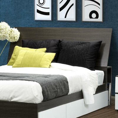 Easy financing Allure Storage Headboard Size: Quee...