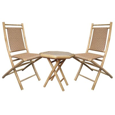 3 Piece Seating Group Finish: Natural