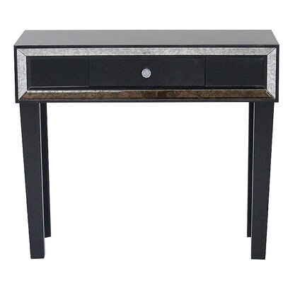 Avery Console Table Finish: Black