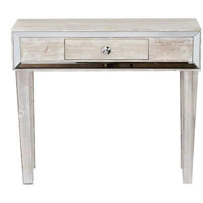 Avery Console Table Finish: White Wash