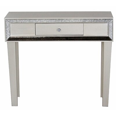 Avery Console Table Finish: Champagne