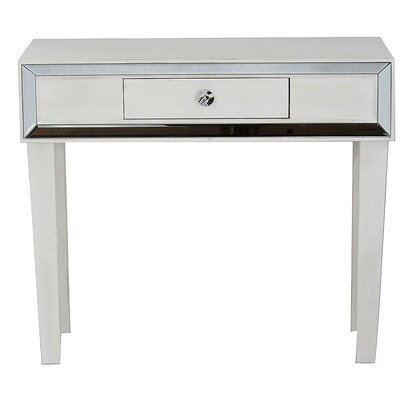 Avery Console Table Finish: Antique White