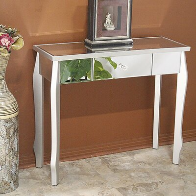 Amelia Console Table Finish: Silver