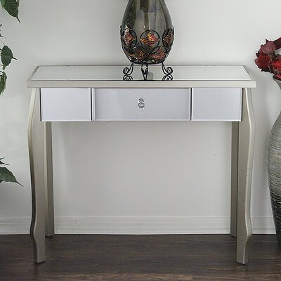 Amelia Console Table Finish: Champagne