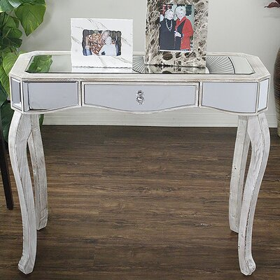 Katrina Console Table Finish: White Wash