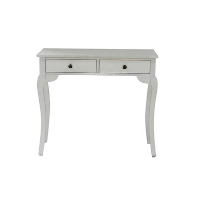 Pinecrest Console Table Finish: Ivory Wash