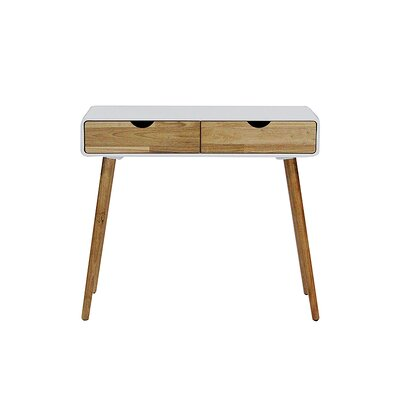 Euro Console Table Finish: White